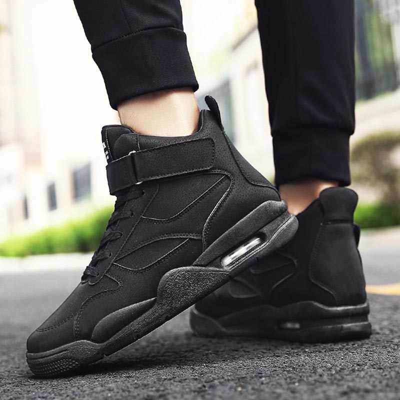Men Vulcanize Shoes Fashion New Men Shoes Comfort Men Sneakers High-top Shoes Male Shoes Adult Fashion Sneakers Slip-on Footwear