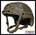 Lg/xlg aor1 deluxe 3a rápido à prova de balas nij nível iiia marpat relatório de teste balístico kevlar capacete com hp branco 5 anos garantia