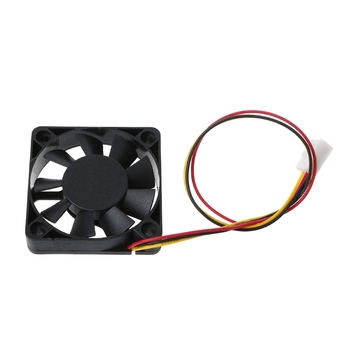 Mini 50mmx50mmx10mm DC 12V 3Pin Brushless Cooler 9-Blade Blower Cooling Fan 5010 image