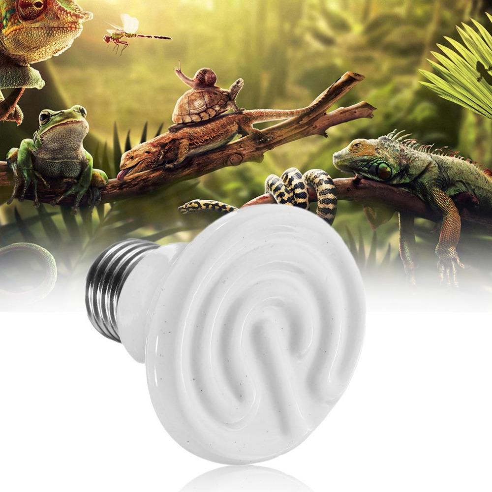 ICOCO 110V Home Pet Reptile Breed Ceramic Heat Emitter Heater Light Brooder Lamp Heat Bulb Insulation Lamp Light Hot Search