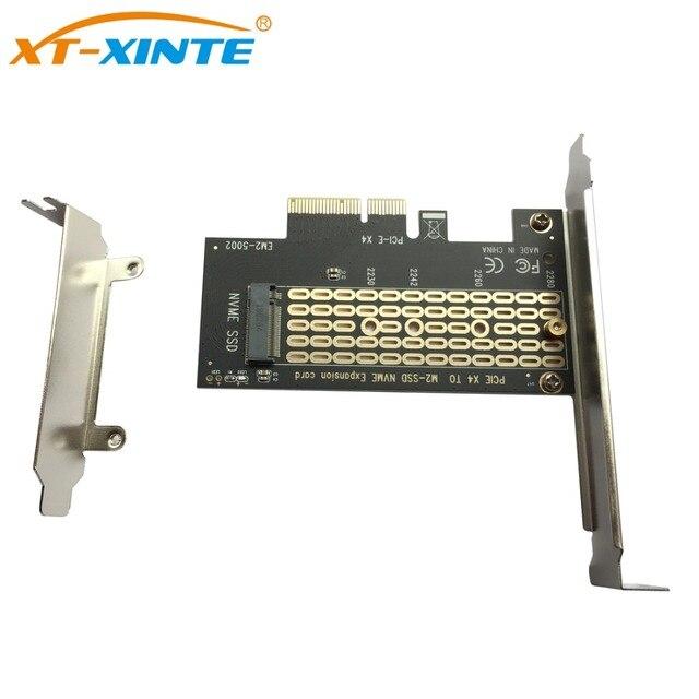 PCI Express 3,0X4 NVMe M.2 SSD M ключ NGFF PCIE M2 Riser Card адаптер Поддержка 2230 2242 2260 2280 M.2 SSD карты расширения