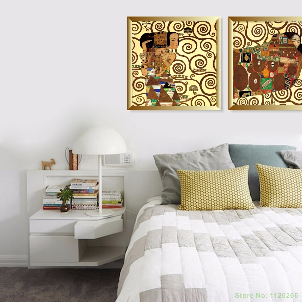 Ancient Beauty Figure Canvas Painting Modular Abstraction Pictures ...