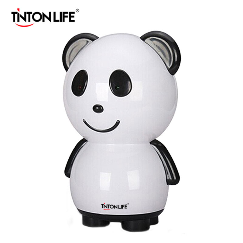 TINTON LIFE Panda Shape Desiccant Machine for Home/Car Mini Dehumidifier Cartoon Pumping Wet Machine Air Dryer ladybird shape humidifiers cartoon nebulizer suitable for car