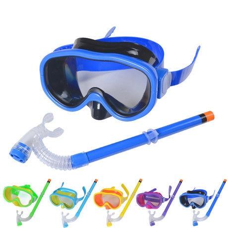 Anti-Fog Diving Equipment Dive Mask Dry Snorkel Set Scuba Snorkeling Gear Kit CO
