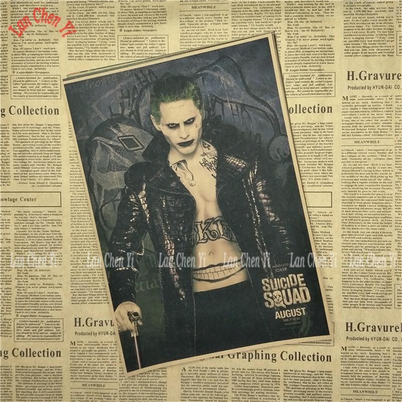 Klassik Film Kraft Kağızı afişası İntihar Heyəti Seriyası 1 - Ev dekoru - Fotoqrafiya 5