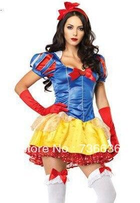 women halloween sexy maid in manhattan snow white stage dress oktoberfest costumes tutu skirt women adult