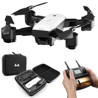 SMRC S20 6 Axles Gyro Mini GPS Drone With 110 Degree Wide Angle Camera 2.4G Altitude Hold RC Quadcopter Portable RC Dron Model