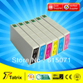 Бесплатная Доставка, 6 Картридж для Epson RX700 Принтер Картридж для Epson T5591 T5592 T5593 T5594 T5595 Картридж