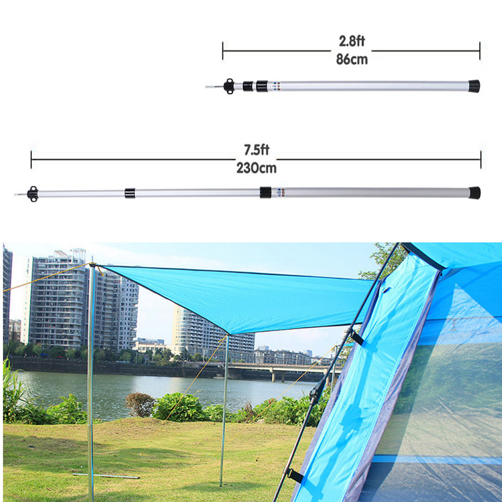 5Pcs//pack Sturdy Alloy Tent Peg Nail Stake Hook Outdoor Camping Tarp Canopy