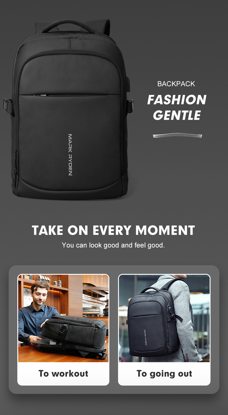 HTB1dm1xRyLaK1RjSZFxq6ymPFXaE - Mark Ryden Man Backpack Multifunctional Waterproof 15.6inch Laptop Multi-layer Pockets Bag Man USB Charging School Backpack