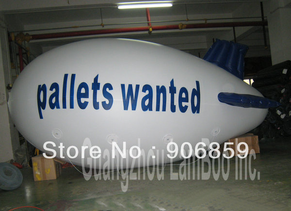 HOT White Inflatable Airship with Blue Wings for Your Promotion/ Inflatable Zeppelin/Blimp,ALL DHL FREE Shipping to Your DoorHOT White Inflatable Airship with Blue Wings for Your Promotion/ Inflatable Zeppelin/Blimp,ALL DHL FREE Shipping to Your Door