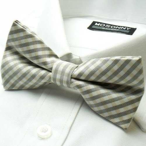 Free Shipping Cheap Male bow tie bridegroom bow tie bow tie fine check collar gown