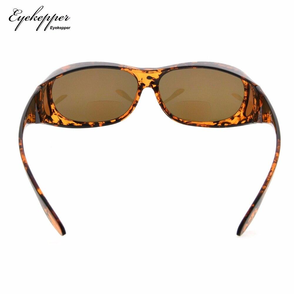 37b260692c S029PGSG Eyekepper Fitover polarizado gafas de sol Bifocal para usar sobre  gafas regulares policarbonato polarizado lentes Sunreaders en Gafas de  lectura de ...