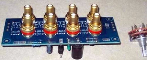 Free Shipping!!! Quad / signal selection / source selection / signal switching board / Electronic Component