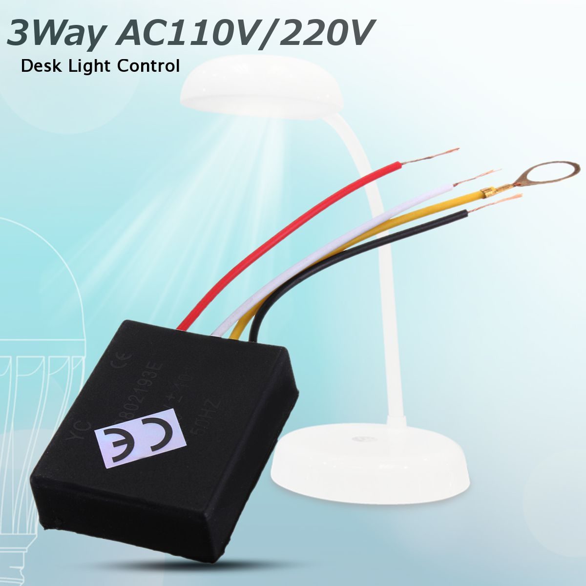 1pc 3 Way Ac 150w Desk Light Parts Touch Control Sensor Lamp Switch To Dimmer 220v 50hz For Bulbsc Sensors Best Quality In Switches From Lights Lighting On