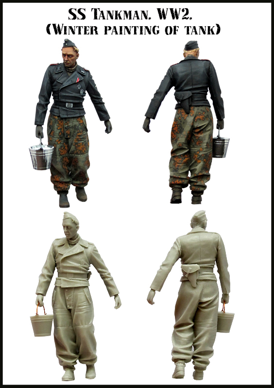 1:35 WWII German Tank Crews Paint 2