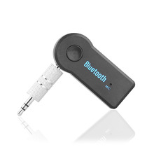Wireless Car Bluetooth Receiver Adapter 3.5MM AUX Audio Stereo Music Hands-freeHome Car Bluetooth Audio Adapter(China (Mainland))