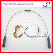 WQ004, 200 Uds., gafas de sol deportivas ajustables, gafas para niños, hombres, mujeres, cadena, cordón de sujeción