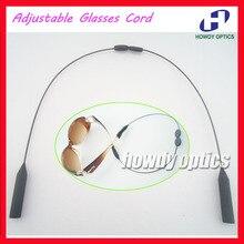 WQ004 200 adet Ayarlanabilir Spor Gözlük Güneş Gözlüğü Çocuk Çocuklar Erkekler Kadınlar için Gözlük zincir kordon tutucu Dize
