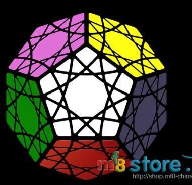 MF8 Большая Медведица/глаза неба/кубик SunMinx черный кубик Cubo Magico кубик обучающая игрушка Прямая поставка - Цвет: SunMinx