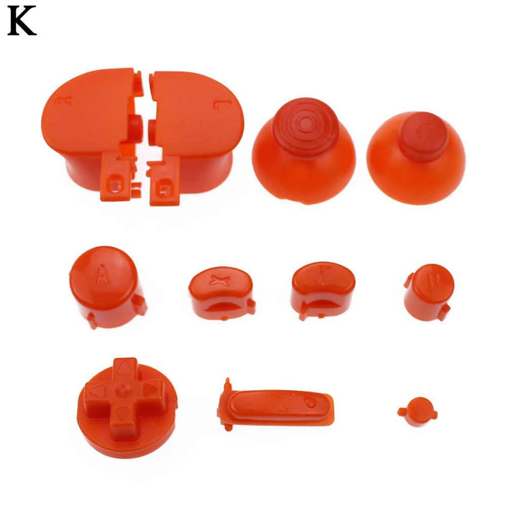 9 наборы для ухода за кожей полный набор D колодки мощность на кнопку выключения GameCube A B X Y L R пуговицы и аналоговый стик, джойстик Stick кепки N GC