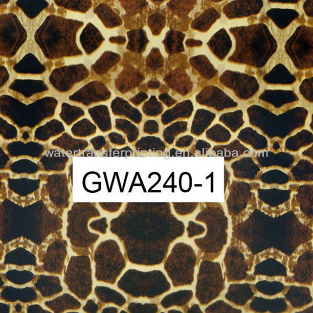 Width 100cm GWA240-1 Water Transfer Printing Hydro Graphics Film--Spotted leopard pattern Water Transfer Printing Film