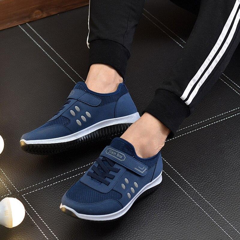 Sapatilhas Casuais Caminhada Leves Da Outwear cinza Nova Sapatos Para Malha Homens Sapato Chegada Sapatilha Preto Dos Corrida azul Respirável Tênis De t6ZqZIY