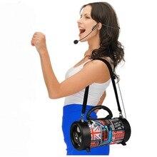 Bluetooth Speaker Wireless column Amplifier Voice Megaphone MP3 Aux TF FM radio Loudspeaker portable Sound box outdoor Speaker