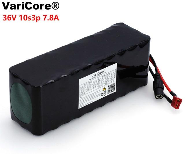 VariCore 36 V 7.8ah 10S3P haute puissance 18650 batterie de voiture électrique Motorrad batterie 36 V bricolage BMS PCB protection-in Batteries from Electronique    1