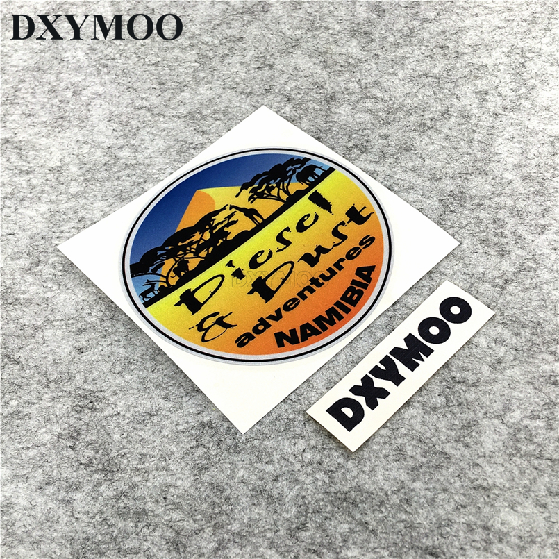 Car Styling Diesel Adventures ADV GS SUV SAHARA Stickers Scuba Dive Shark Fish Tank Decals Vinyl 12cm