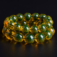 Lanpo bracelets natural beeswax beads amber beads single ring bracelet men and women jiuduo natural colorful amber beeswax bracelet hand with women identification design factory direct special package mail