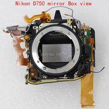 Nueva caja del espejo marco de piezas de repuesto de montaje para nikon d750 slr