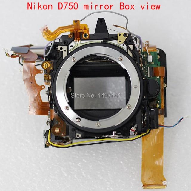Nieuwe Spiegel Doos Assy Met Diafragma Groep En Sluiter Groep Reparatie Onderdelen Voor Nikon D750 Slr