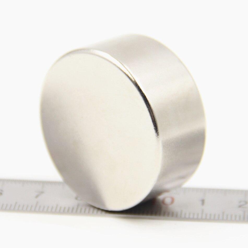1 stücke Super Starken Groß Kleine Runde NdFeB Neodym-scheibenmagnete Dia 40mm x 20mm N50 Seltene erden NdFeB Magnet