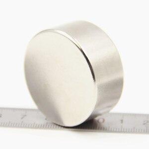 1pcs Super Powerful Strong Bulk Small Round NdFeB Neodymium Disc Magnets Dia 40mm x 20mm N52 Rare Earth NdFeB Magnet 40x20 40*20
