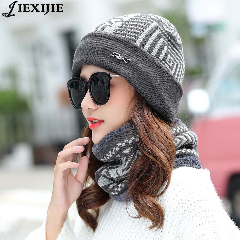 winter knitted hat fashion Beanies Knit Men's lady Hat Caps Skullies Bonnet For Men Women Beanie Casual Warm Baggy Bouncy 2017 fashion unisex knitted hat beanies knit men warm winter sets hat scarf collar caps women skullies bonnet beanie casual baggy