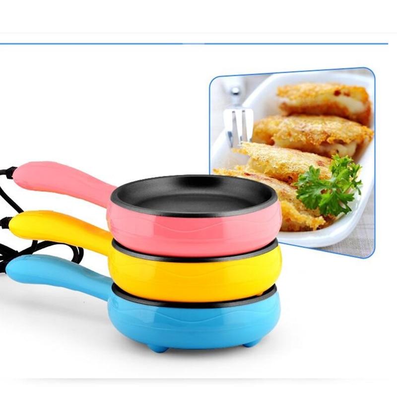 220v Electric Multifunctional Egg Steak Frying Plate Machine  3 Color Available Crepe Breakfast Maker Machine EU/AU/UK Plug