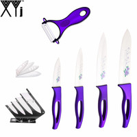 High Grade Quality XYJ Brand Ceramic Knife 4 Kinds Of Size 6 5 4 3 Kitchen