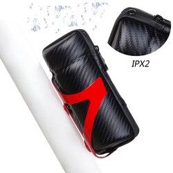 Nuovo Design IPX2 Impermeabile Strumenti del Sacchetto Del Tubo Della Bicicletta Sports Bike Capsule Bagagli Borse Ciclismo Repair Tool Box Cassa A Forma di Bottiglia