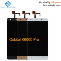 For Oukitel K6000 Pro LCD In Mobile Phone LCD Display And TP Touch Screen Digitizer Assembly