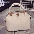 2017 Designer Handbags High Quality Famous Brand Women Leather V Bag Fashion Shoulder Bag Women Messenger Bags Bolsa Feminina