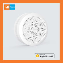 Xiaomi Mijia Aqara Hub Mi Gateway with RGB Led night light Smart work with For Apple Homekit New Edition(China)