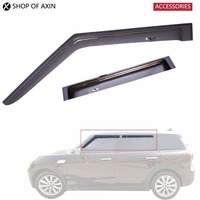 Sun Rain Guards Acrylic Translucent Smoky Color For Mini Cooper Countryman Hatchback Clubman R53 R55 R56