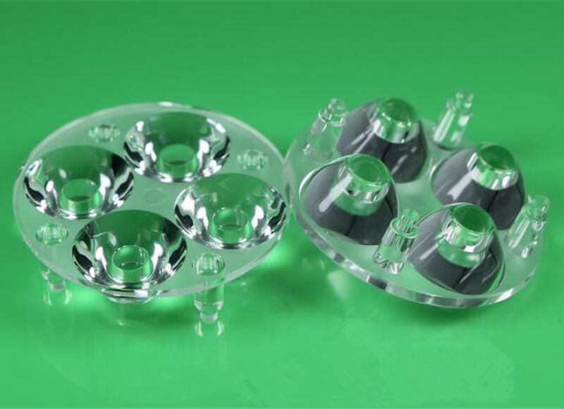 Jarmay - Store # IHF-50 Высокое качество ПРИВЕЛО Оптических Линз 4 P, PMMA материалов, диаметр 50 мм, 30, 45 градусов, чистой поверхности, с базы ноги