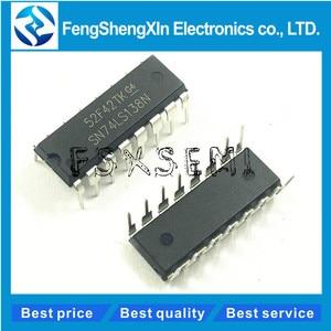 Image 1 - 10pcs/lot SN74LS138N SN74LS138 HD74LS138P DIP 16 74LS138 Decoder Demultiplexer IC