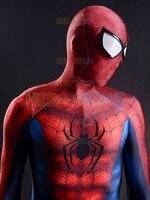 2015 Najnowszy Klasyczny kostium Spider-man 3D Drukowanie fullbody Superhero halloween cosplay party zentai garnitur darmowa wysyłka