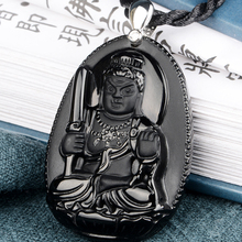 Belwide Crocs Fudo Obsidian pendant Rooster year eight patron saint of natal Bud