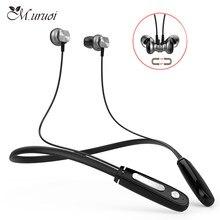 M. uruoi Cordless Vivavoce Sport Della Cuffia Stereo In Ear Auricolari  Bluetooth Con Microfono Cuffie Magnetico Auricolari Per I.. 2ad5cb2389c7