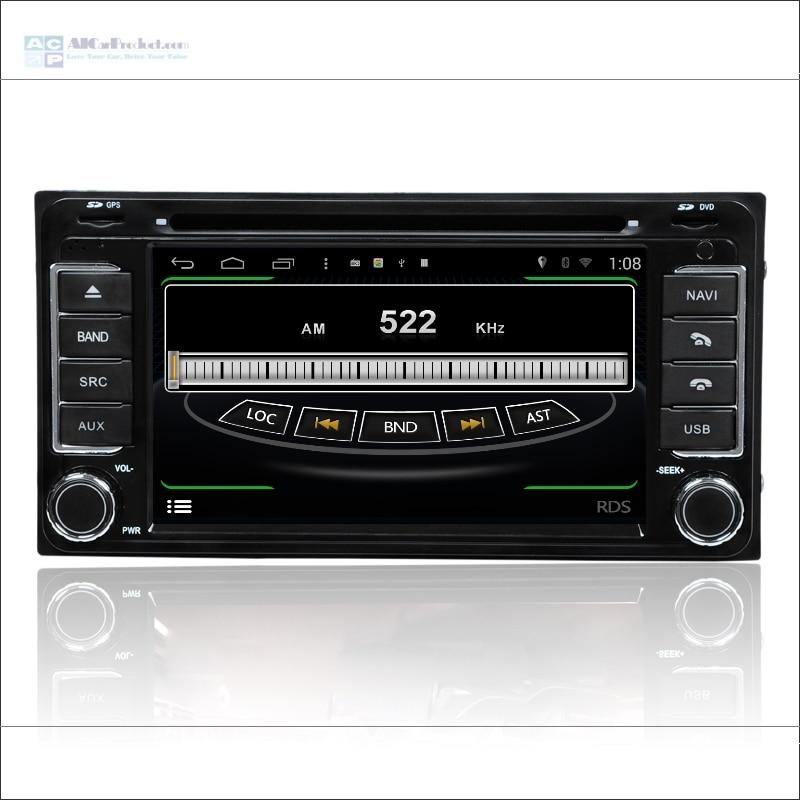 Para Toyota ist/Urban Cruiser/FJ Cruiser/Land Cruiser Prado-Radio CD Reproductor