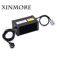 XINMORE 84V 10A 9A 8A Lithium Battery Charger For 72V E bike Li Ion Battery Pack AC DC Power Supply for Electric Tool